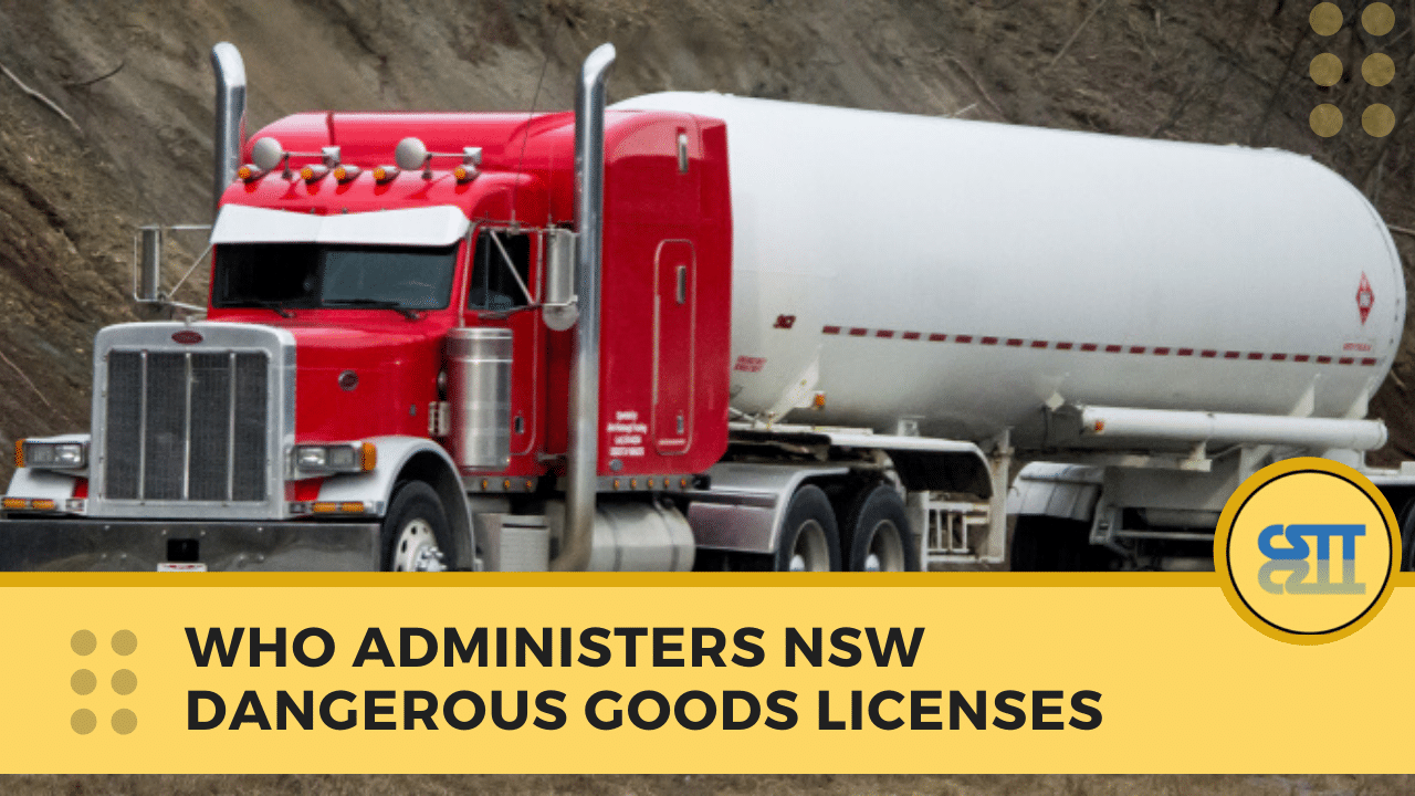 Dangerous Goods Licence NSW