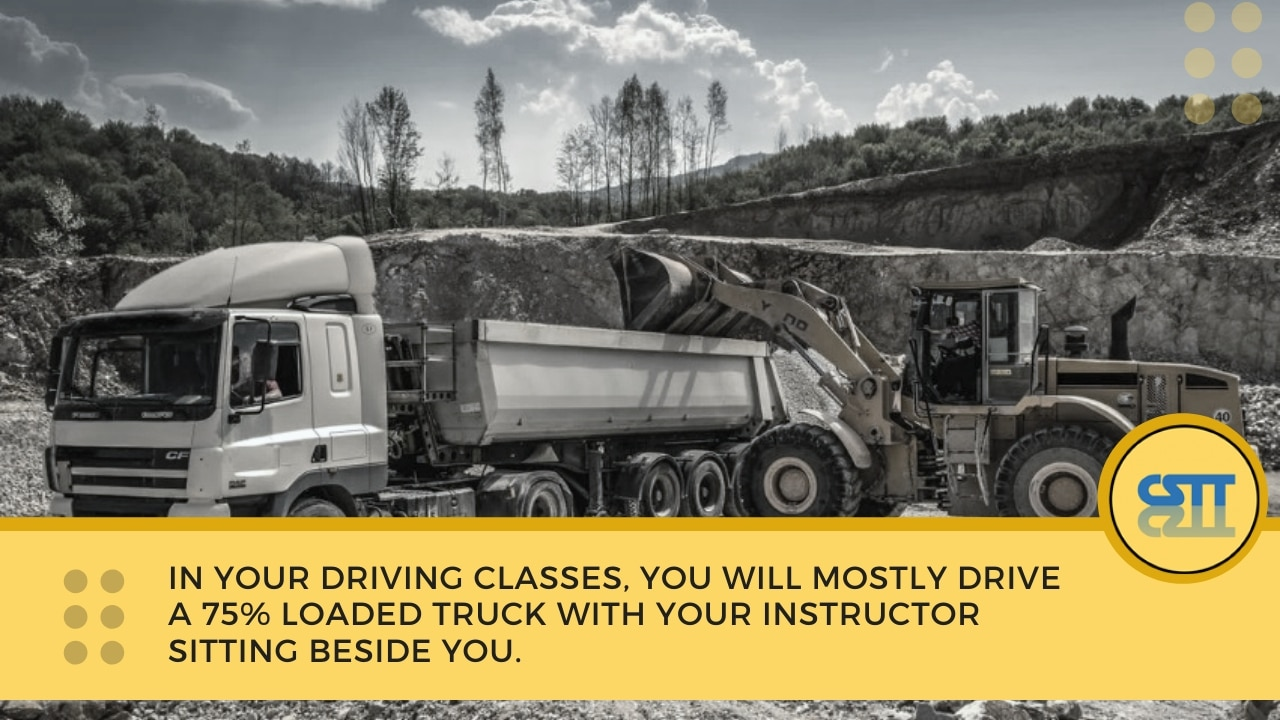 nsw heavy truck driver training