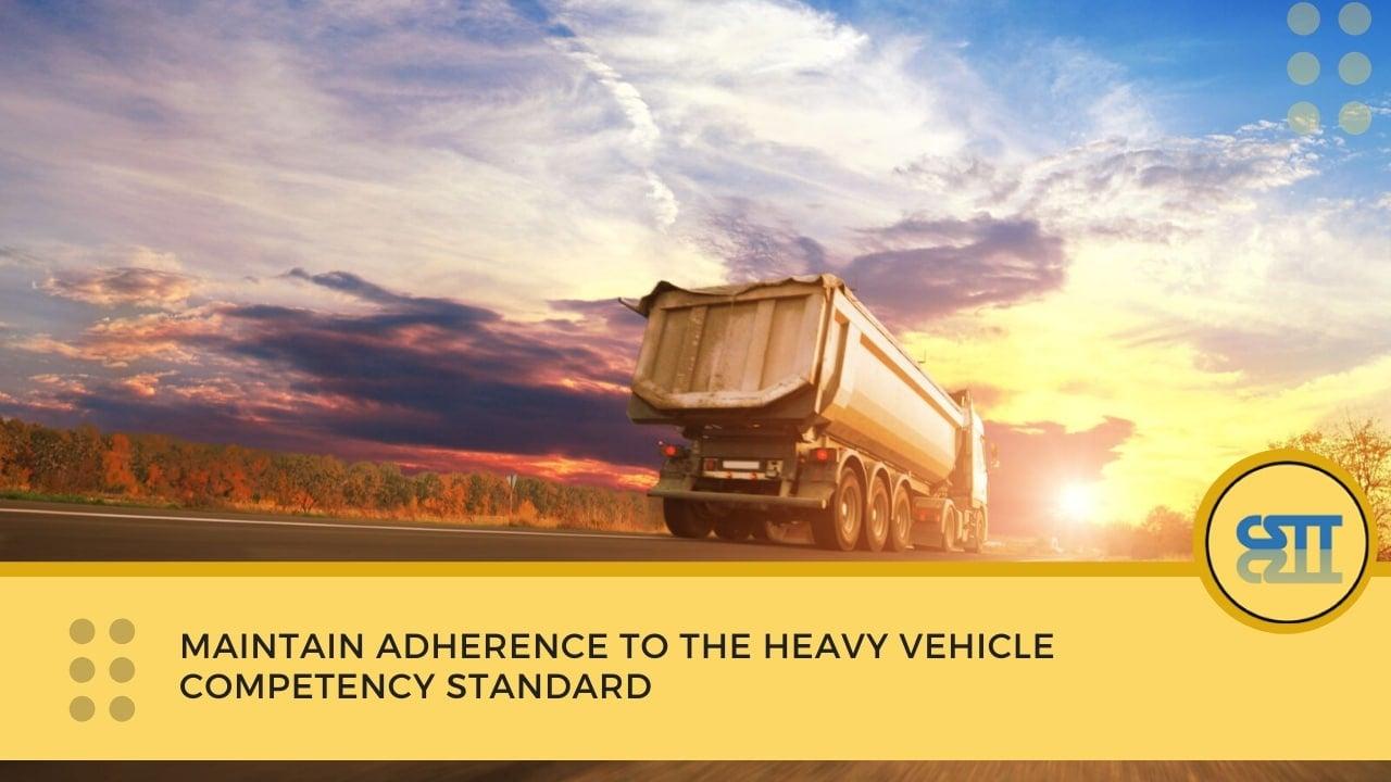 heavy vehicle competency standard