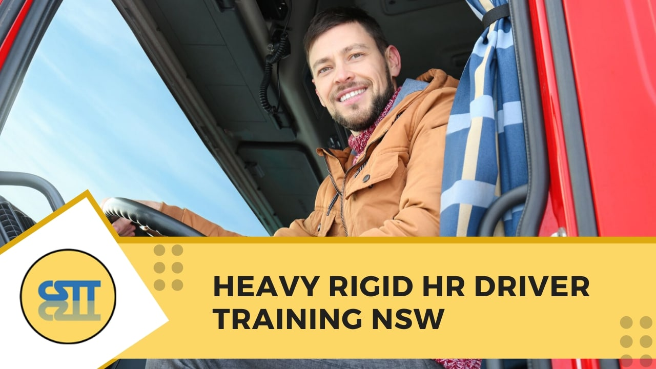 Heavy Rigid HR Driver Training NSW