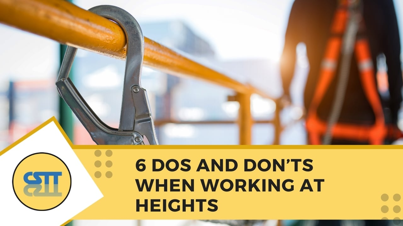 6 Dos and Donts When Working At Heights