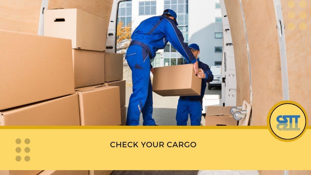 Check your cargo