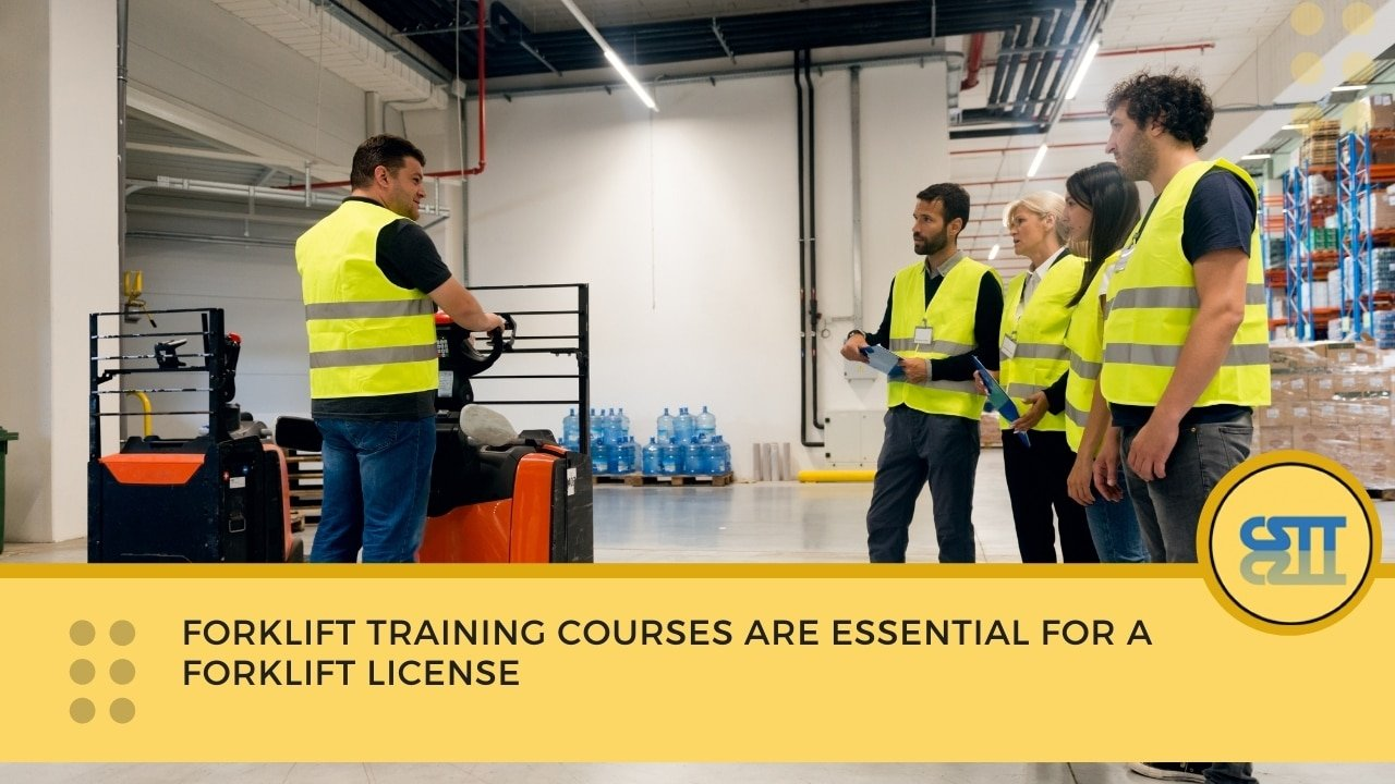 Forklift Training Courses are Essential for a Forklift License