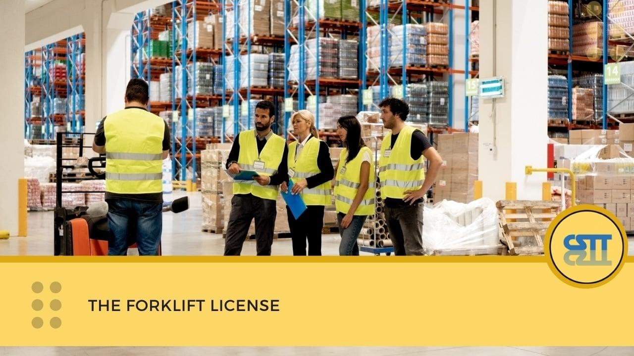 The Forklift License